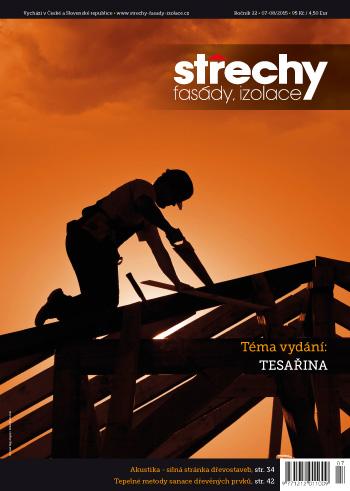 Střechy-Fasády-Izolace, vydání 7-8/2015