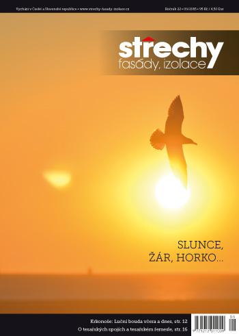 Střechy-Fasády-Izolace, vydání 9/2015