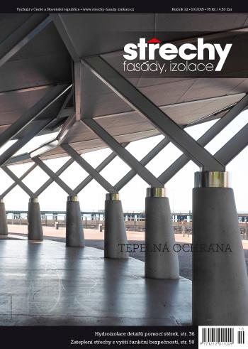 Střechy-Fasády-Izolace, vydání 10/2015