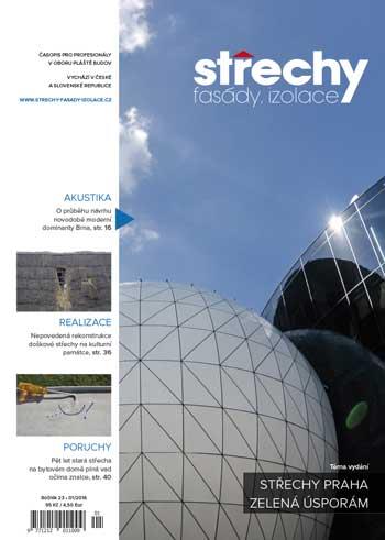 Střechy-Fasády-Izolace, vydání 1/2016